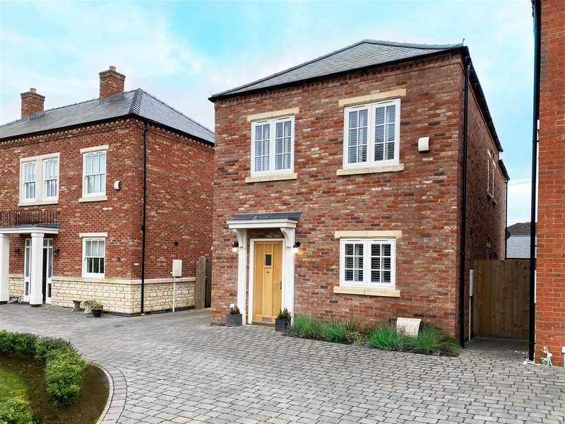 4 Bedrooms Detached House for sale in Medland Drive, Bracebridge Heath, Lincoln
