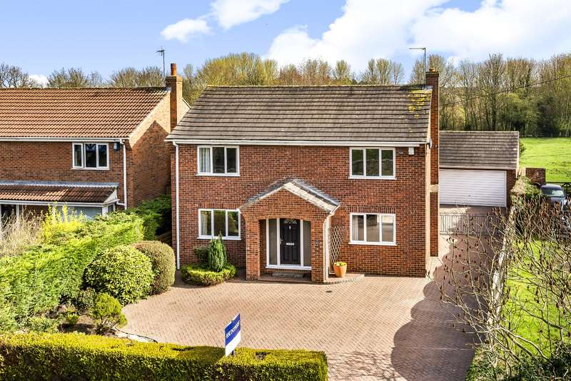 4 Bedrooms Detached House for sale in Wighill Lane, Tadcaster, LS24 8HE