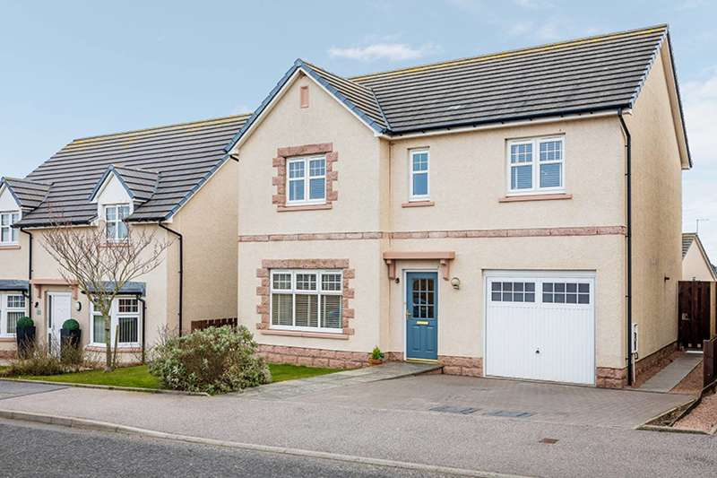 4 Bedrooms Detached House for sale in Marshal Keith Drive, Peterhead, AB42 3FH