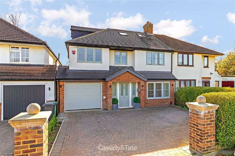 5 Bedrooms Semi Detached House for sale in Stanmount Road, St. Albans, Hertfordshire