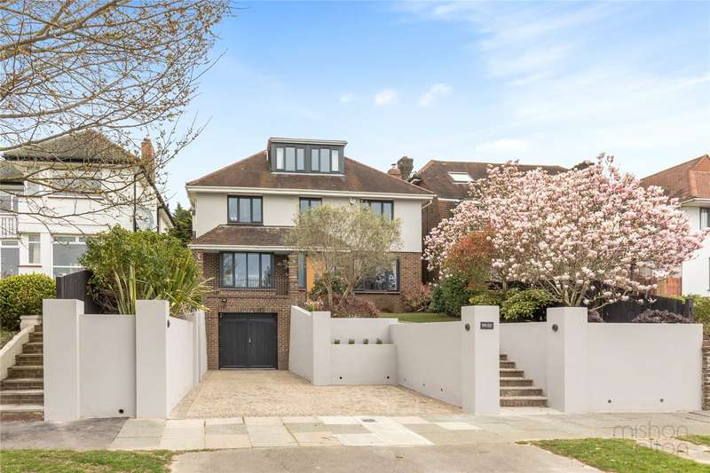 5 Bedrooms Detached House for sale in Shirley Drive, Hove, Sussex, BN3