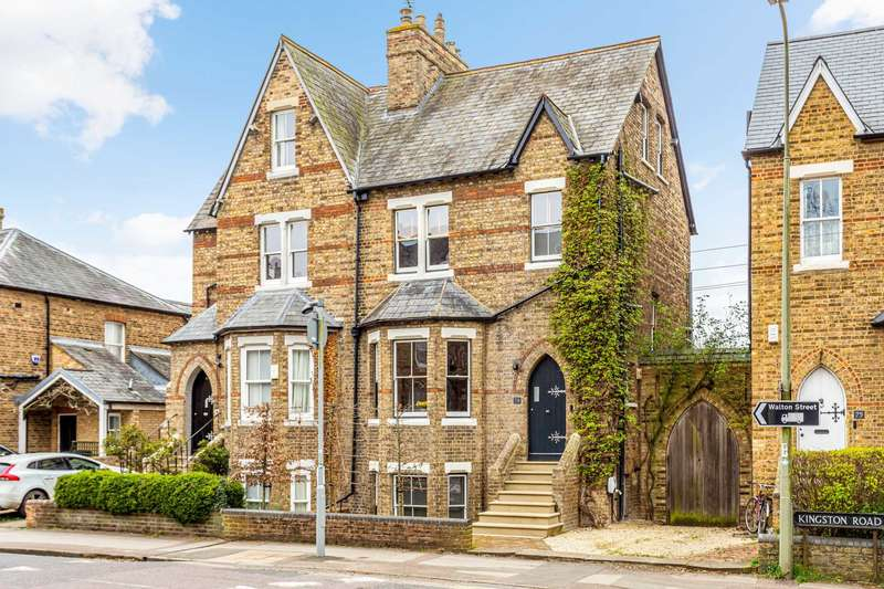 4 Bedrooms Semi Detached House for sale in Kingston Road, Central North Oxford