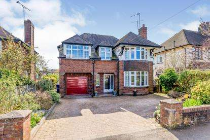 5 Bedrooms Detached House for sale in Whitmore Road, Westlands, Newcastle Under Lyme, Staffordshire