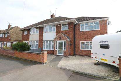 4 Bedrooms Semi Detached House for sale in Eastway Road, Wigston, Leicester, Leicestershire