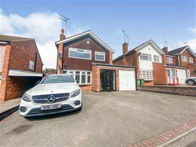 3 Bedrooms Detached House for sale in Pits Avenue, Braunstone Town, Leicester