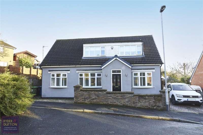 4 Bedrooms Detached House for sale in Lathom Hall Avenue, Springhead, Saddleworth, OL4