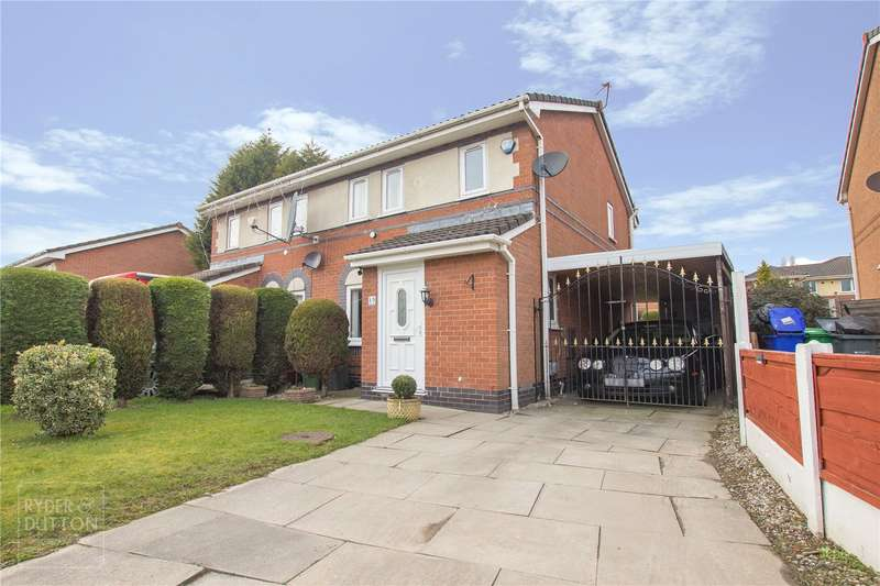 3 Bedrooms Semi Detached House for sale in Margaret Ashton Close, Moston, Manchester, M9