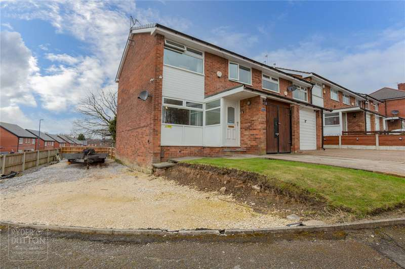 3 Bedrooms End Of Terrace House for sale in Furness Avenue, Heywood, OL10