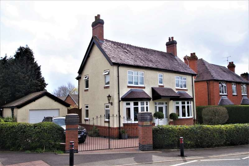 3 Bedrooms Detached House for sale in Oldfields Road, Uttoxeter