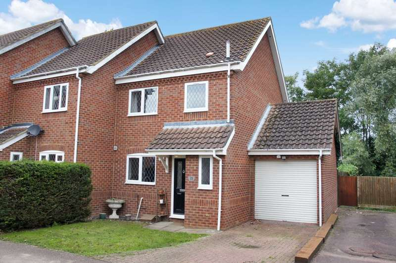 3 Bedrooms End Of Terrace House for sale in Pinsent Avenue, Bromham