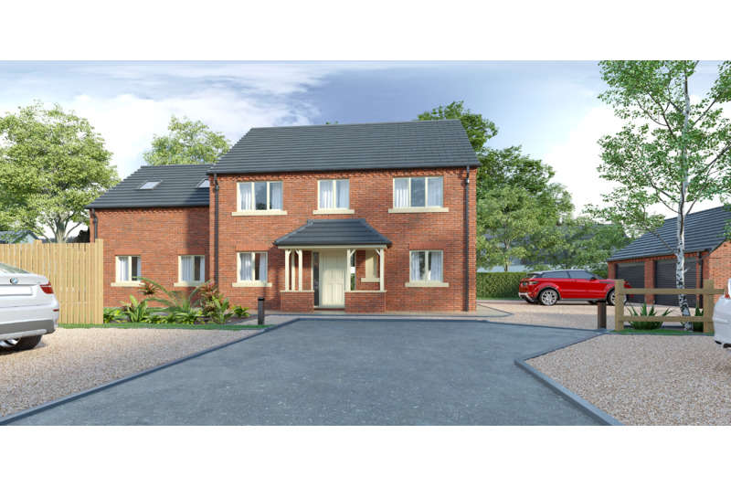 5 Bedrooms Detached House for sale in Rear of Main Road, Quadring, Nr Spalding