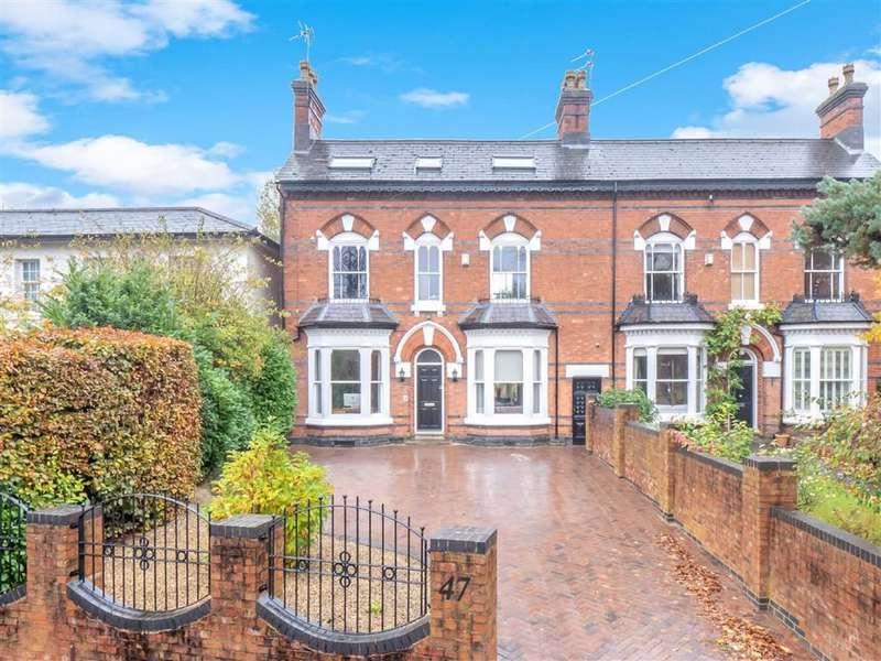 5 Bedrooms Semi Detached House for sale in Albert Road, Harborne
