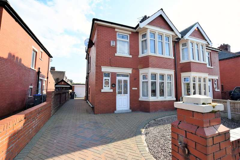 3 Bedrooms Semi Detached House for sale in Faringdon Avenue, Blackpool