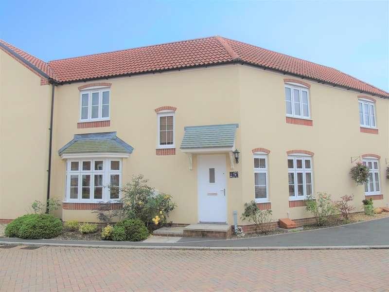 3 Bedrooms Semi Detached House for sale in Walton Close, Glastonbury