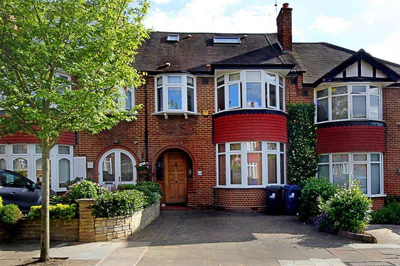 4 Bedrooms Terraced House for sale in Mulgrave Road, W5