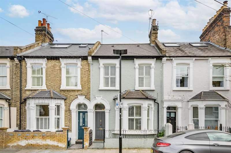 3 Bedrooms Terraced House for sale in Swanscombe Road, London, W4