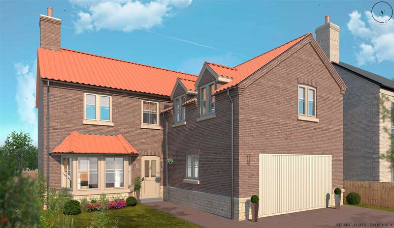 4 Bedrooms Detached House for sale in Church Farm, South Kelsey, Market Rasen