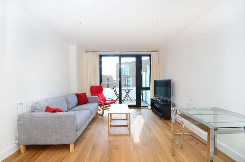 2 Bedrooms Flat for rent in North Mill Apartments, Haggerston, E8