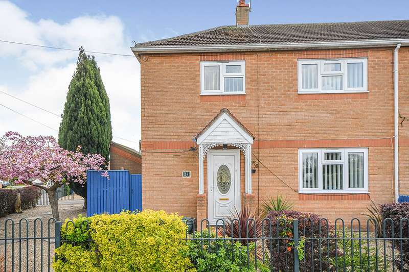 3 Bedrooms Semi Detached House for sale in Perney Crescent, North Hykeham, Lincoln, Lincolnshire, LN6
