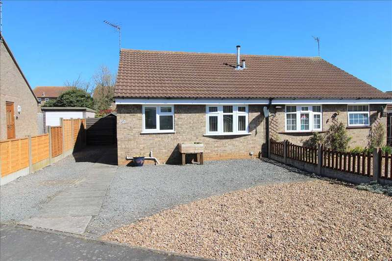 2 Bedrooms Semi Detached Bungalow for sale in First Avenue, Grantham