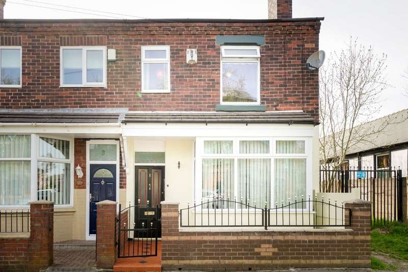 3 Bedrooms End Of Terrace House for sale in Netherby Road, Wigan, Greater Manchester, WN6