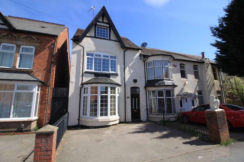 5 Bedrooms Semi Detached House for sale in Rotton Park Road, Edgbaston