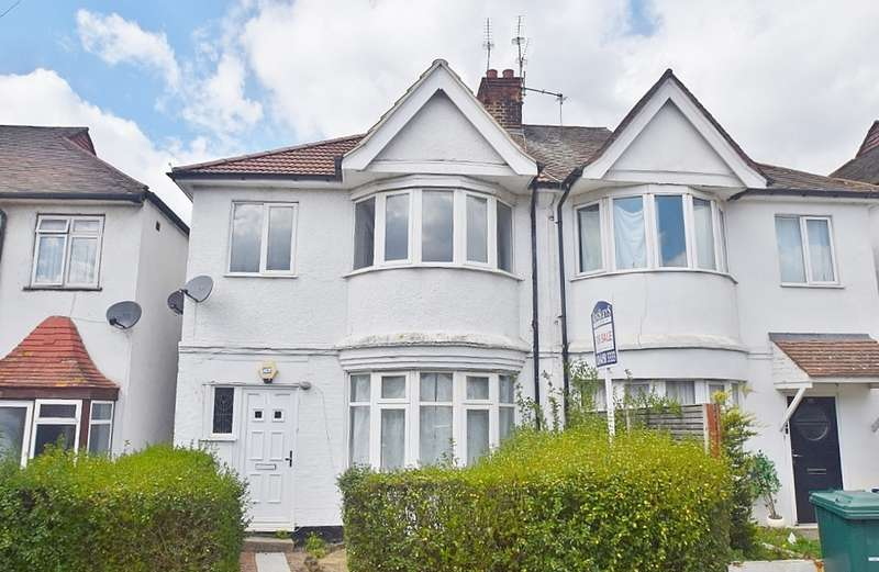 4 Bedrooms Semi Detached House for sale in GOLDERS MANOR DRIVE, GOLDERS GREEN, LONDON, NW11