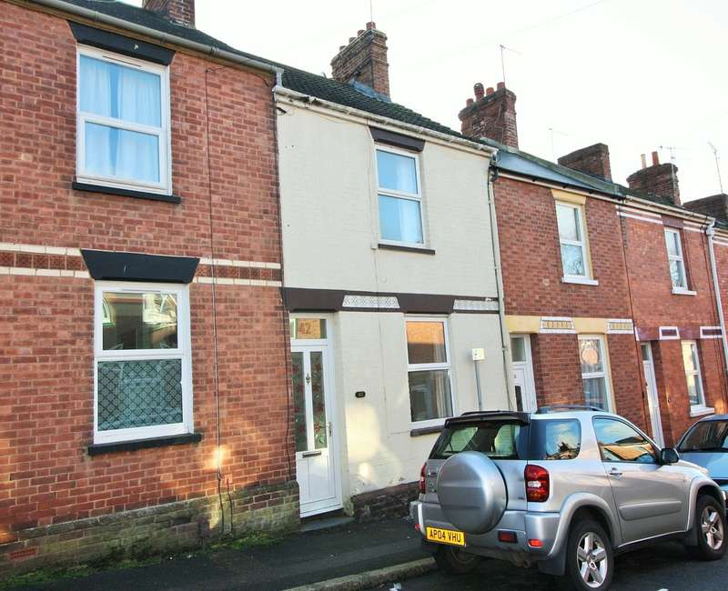 2 Bedrooms Terraced House for sale in Roberts Road, Exeter