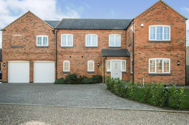 5 Bedrooms Detached House for sale in Chestnut Close, Countesthorpe, Leicester, LE8