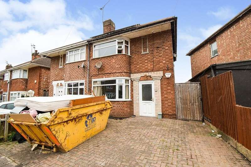 2 Bedrooms Semi Detached House for sale in Roydene Crescent, Leicester, LE4
