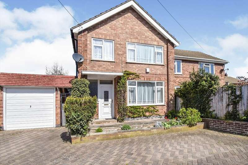 3 Bedrooms Semi Detached House for sale in Westgate Avenue, Birstall, Leicester, LE4