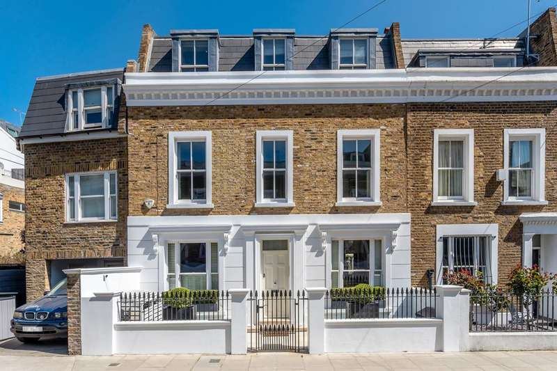 5 Bedrooms Terraced House for sale in Waterford Road, Moore Park Estate, SW6