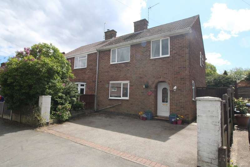 3 Bedrooms Semi Detached House for sale in Featherston Drive, Burbage, Hinckley, Leicestershire, LE10