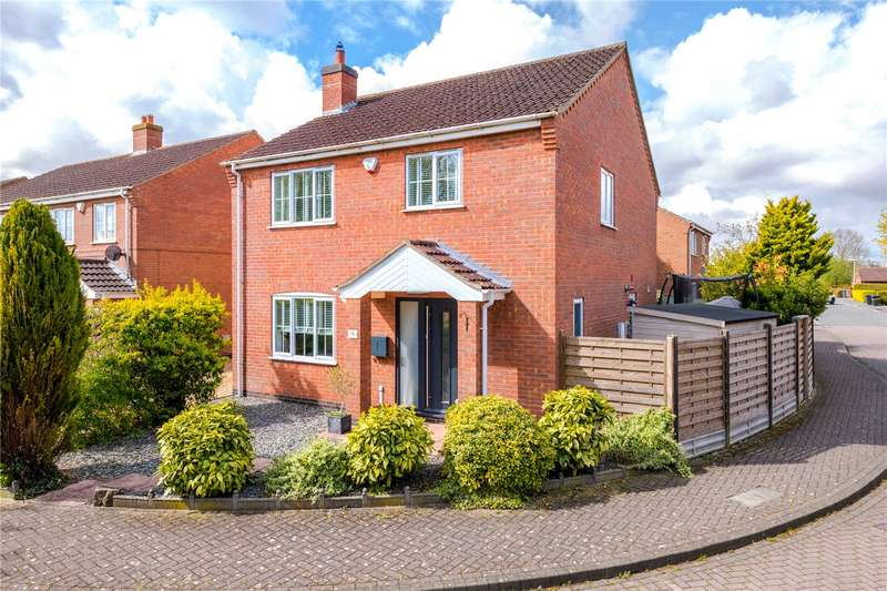 3 Bedrooms Detached House for sale in Meadow Road, Dunston, Lincoln, LN4