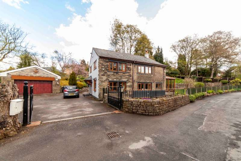 3 Bedrooms Detached House for sale in Thornley Lane, Grotton, Saddleworth, OL4 5RP