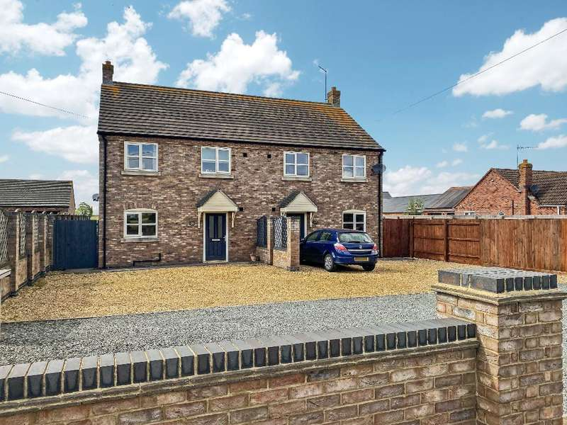 3 Bedrooms Semi Detached House for sale in Station Road, Gedney Hill, Spalding, Lincs, PE12 0NP
