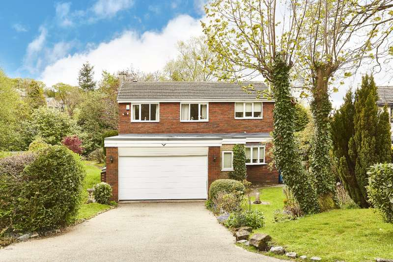 4 Bedrooms Detached House for sale in Heathwood, Uppermill, Saddleworth, OL3