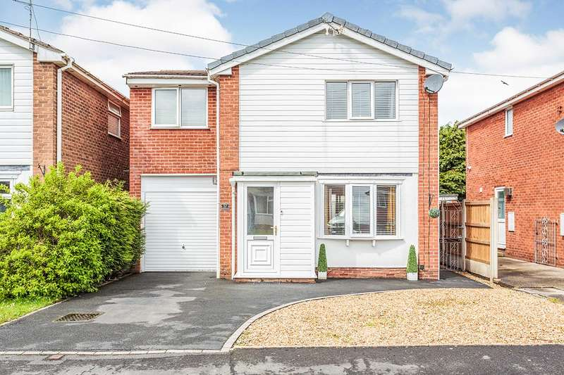 4 Bedrooms Detached House for sale in Bleasdale Avenue, Staining, Blackpool, Lancashire, FY3