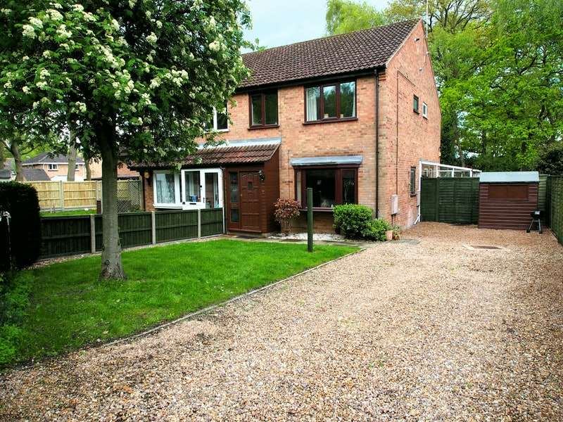 2 Bedrooms Terraced House for sale in Locking Close, Lincoln, Lincolnshire, LN6
