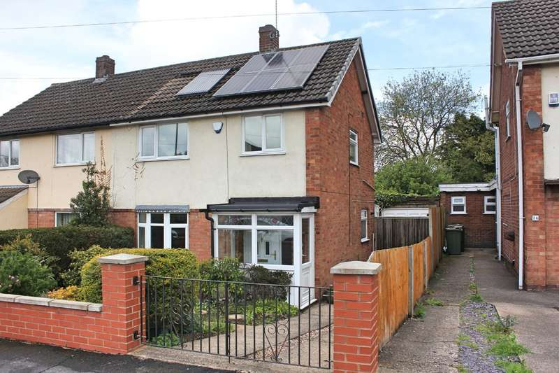 3 Bedrooms Semi Detached House for sale in Weldon Road, Wigston, Leicester