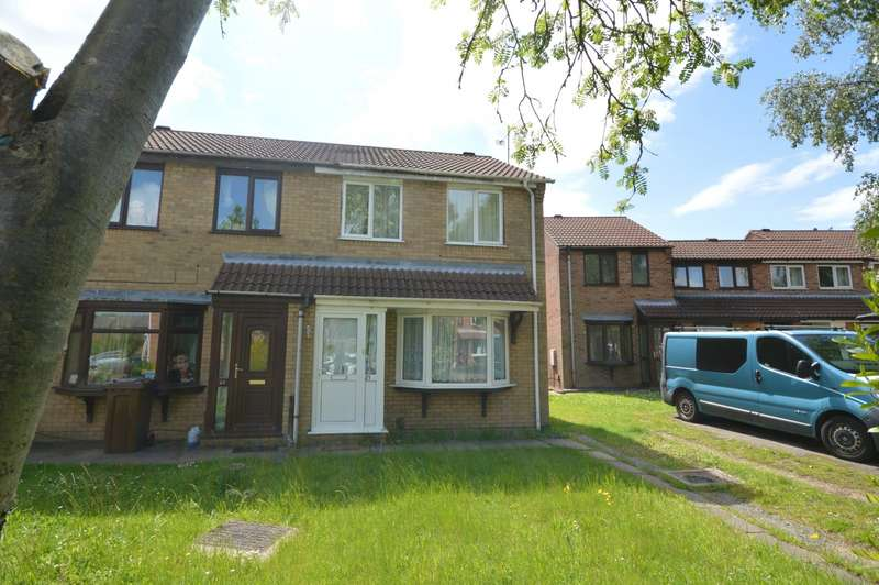3 Bedrooms Semi Detached House for sale in Elsham Close, Lincoln, Lincolnshire, LN6