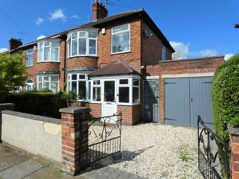 3 Bedrooms Semi Detached House for sale in Paigle Road, Aylestone, Leicester