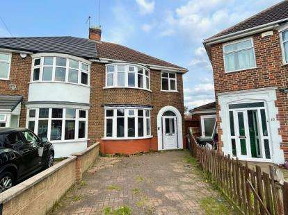 3 Bedrooms Semi Detached House for sale in Norbury Avenue, Leicester, Leicestershire, England