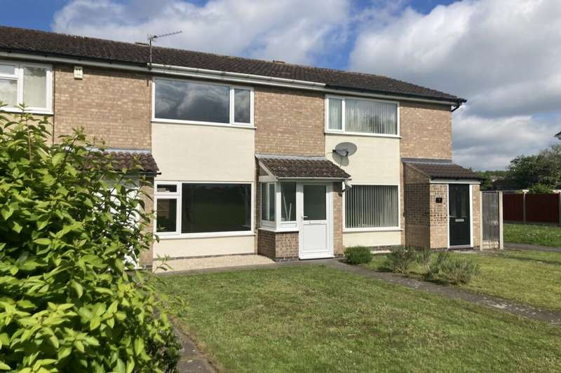 2 Bedrooms Terraced House for sale in Swithland Close, Loughborough, LE11