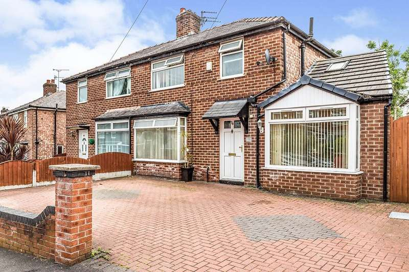 3 Bedrooms Semi Detached House for sale in Wilton Road, Crumpsall, Manchester, Greater Manchester, M8