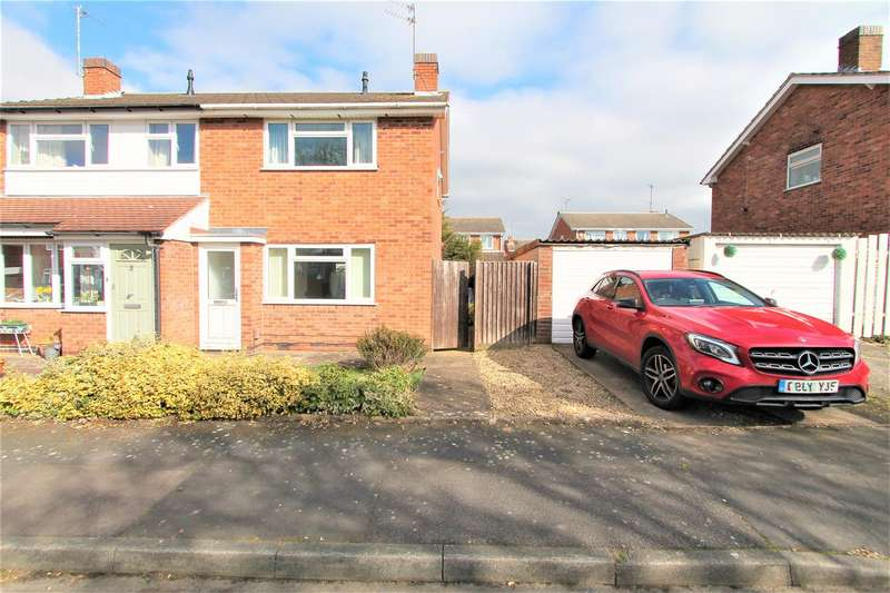3 Bedrooms Semi Detached House for sale in Barton Close, Wigston, Leicester LE18
