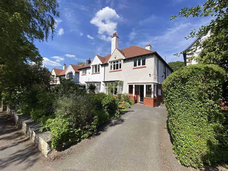 4 Bedrooms Semi Detached House for sale in South Drive, Chorltonville
