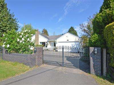 3 Bedrooms Detached Bungalow for sale in The Firs, Lutterworth Road, Wolvey,
