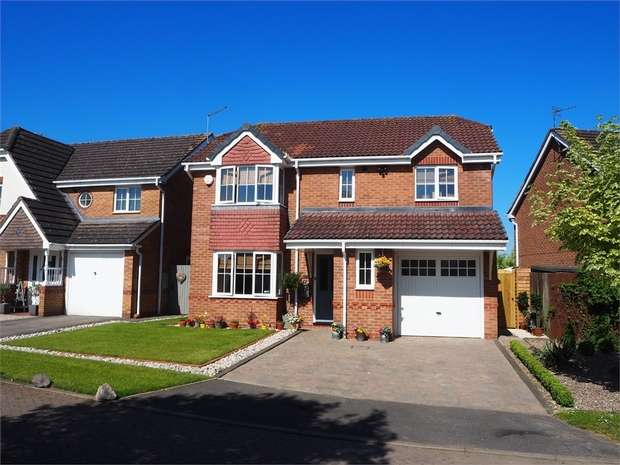 4 Bedrooms Detached House for sale in Broughton Astley, Leicester
