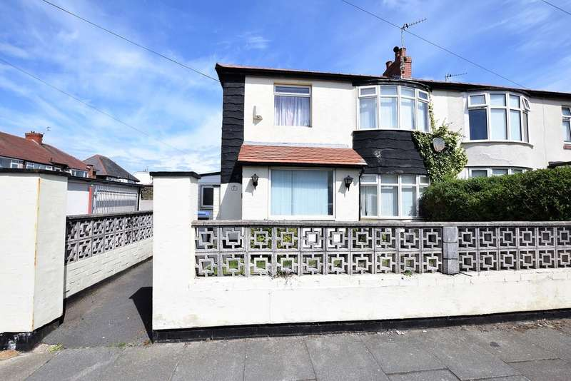 3 Bedrooms Semi Detached House for sale in Ivy Avenue, Blackpool